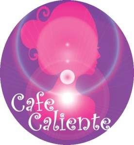 Cafe Caliente Logo with title